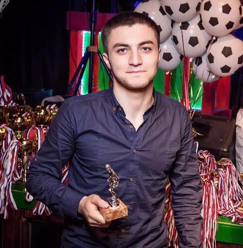 Самедов Автандил Нугзарович - Тренер-преподаватель, руководитель спортивного отделения «Футбол»